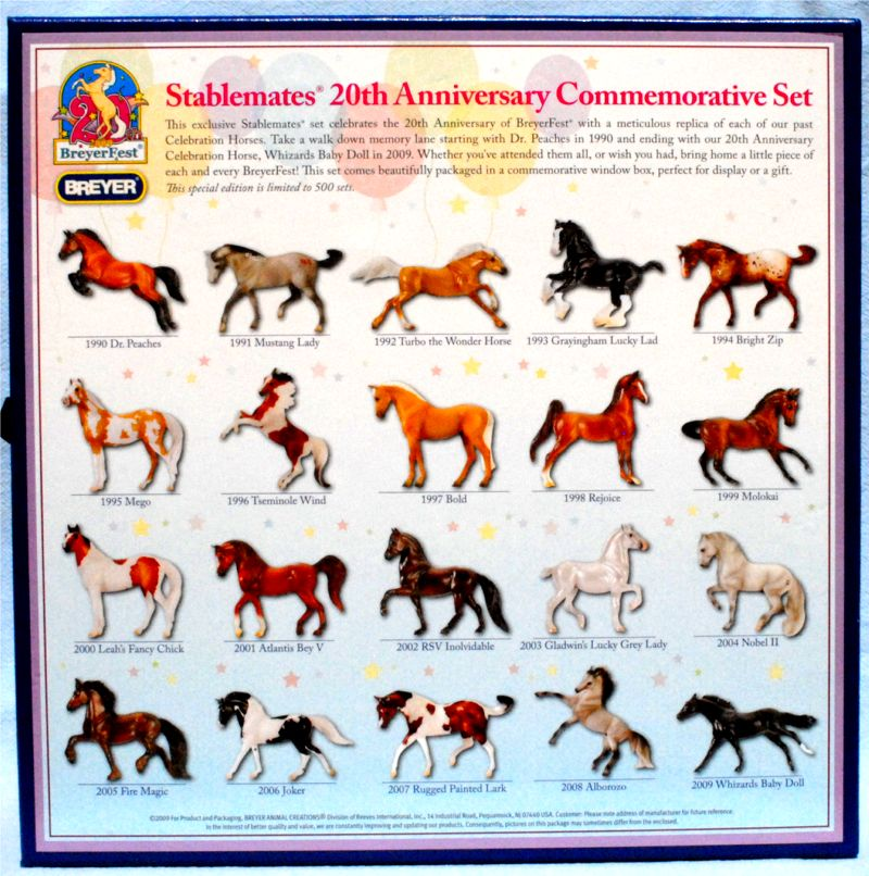 Identify Your Breyer 20th Anniversary Commemorative Set