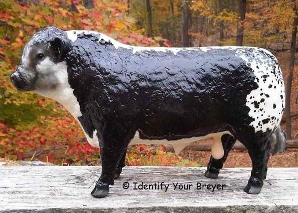 Identify Your Breyer - Polled Hereford Bull