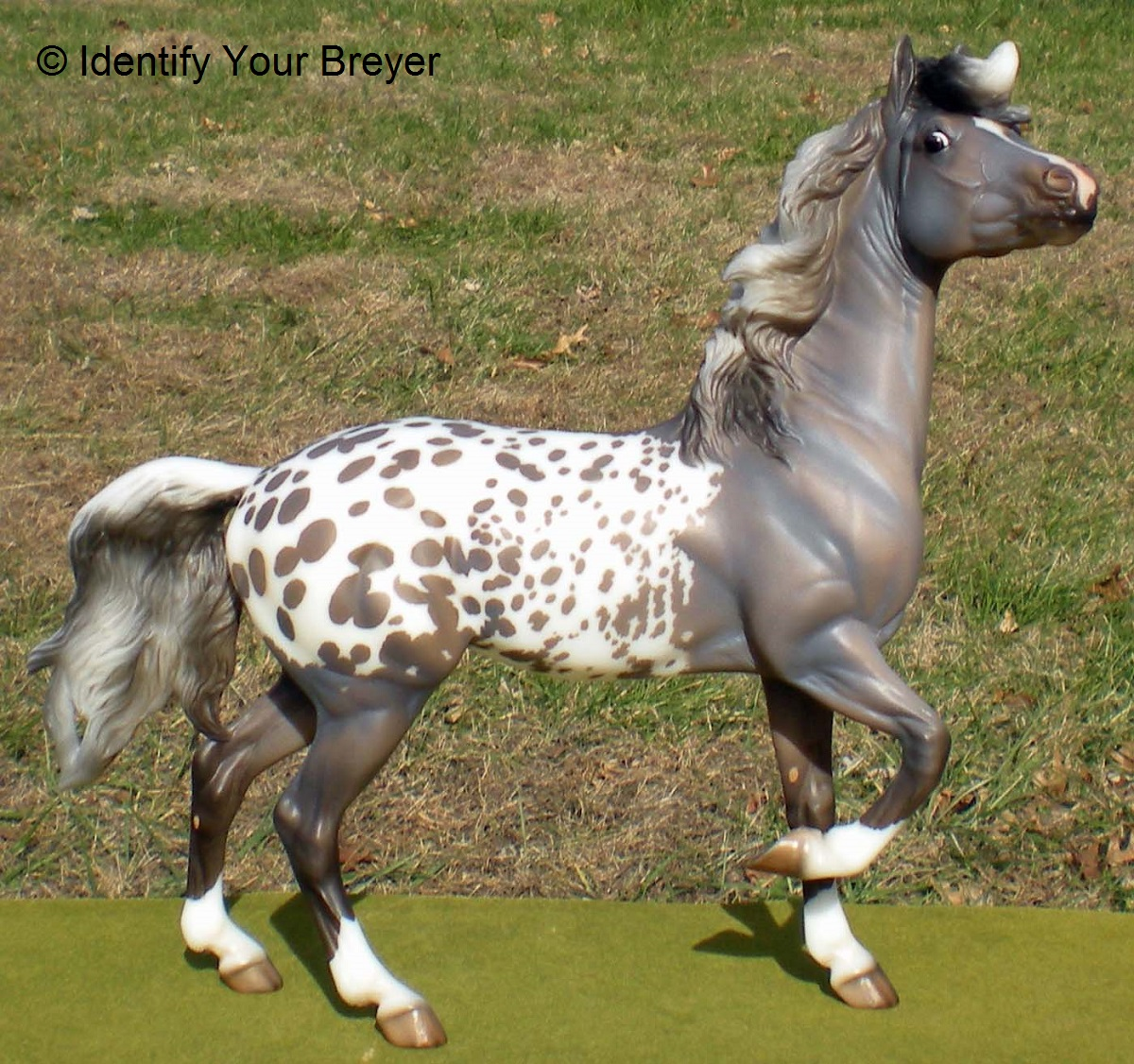 identify your breyer mustang mare